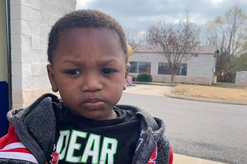 Two-Year-old Boy Abandoned At The Goodwill With Just A Note And Bag of Clothes