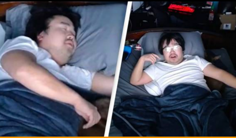 Guy earned $16,000 in 7 hours by Letting people Disturb his Sleep On Twitch