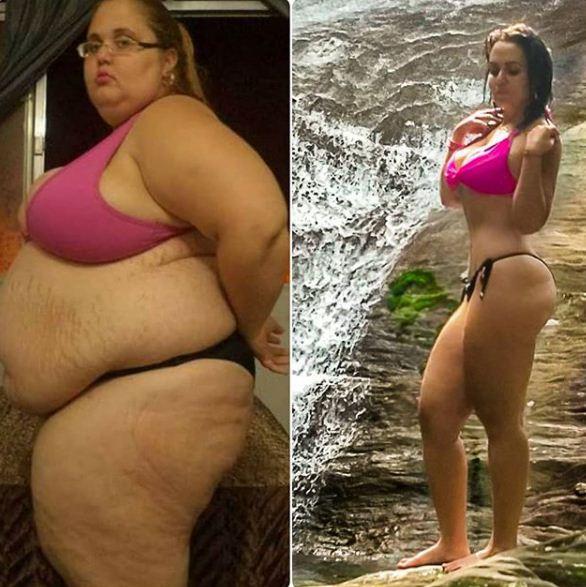 fat Instagram star slim body experience fans