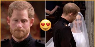 Reaction Of Prince Harry After Seeing Meghan Markle Was Just Perfect