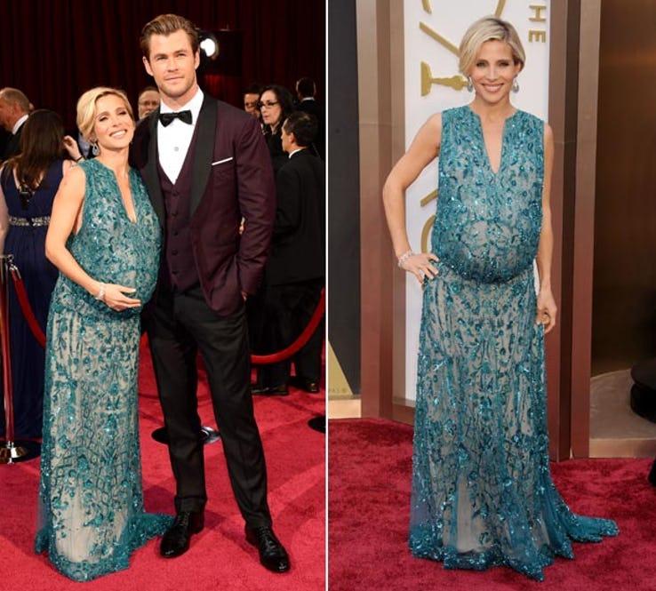 upsetting pregnancy dresses celebs wardrobe