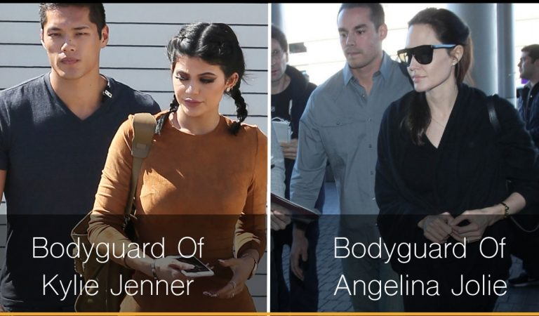 18 Celebrities Whose Bodyguards Are More Handsome Than Them