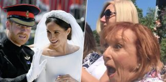 grand surprise Meghan sighted former teacher well-wishers