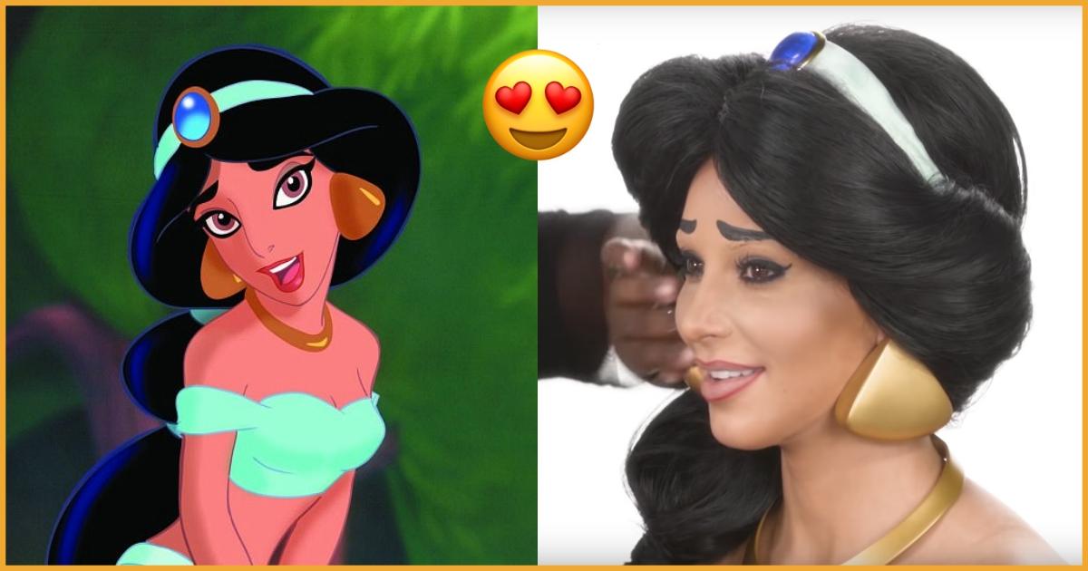 Kim Kardashian Transformed Herself Into Princess Jasmine But Failed To Fool Daughter North