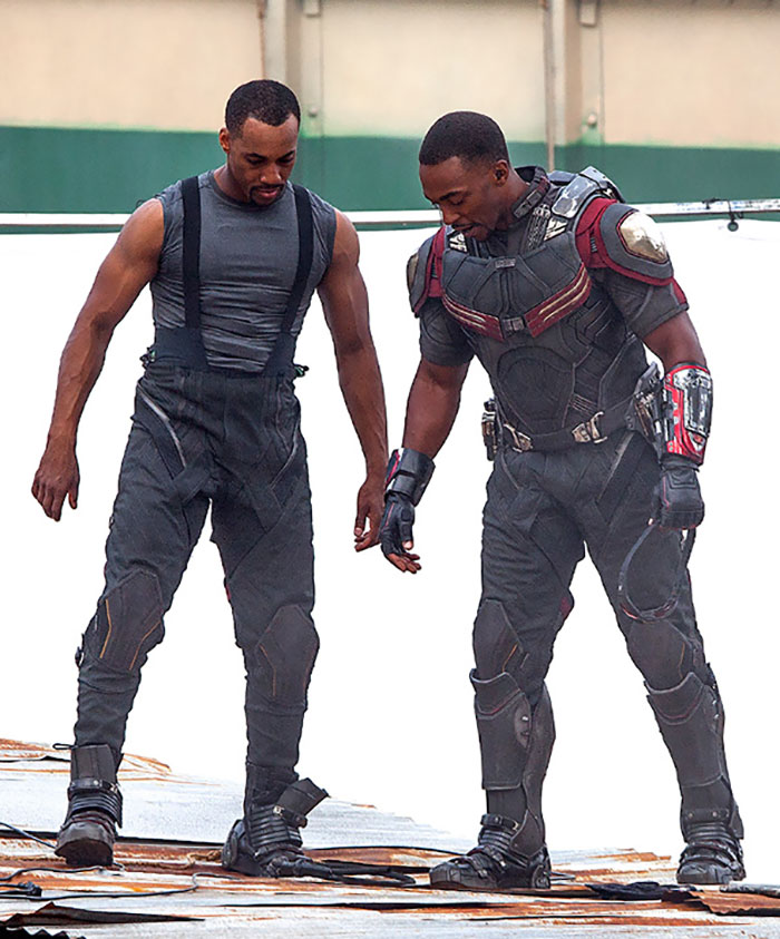 13 Pictures Of Avengers With Their Stunt Doubles That Absolutely Make The Actors Less Cool