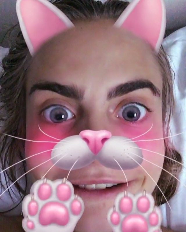 how your favorite hollywood stars looks in snapchat filters