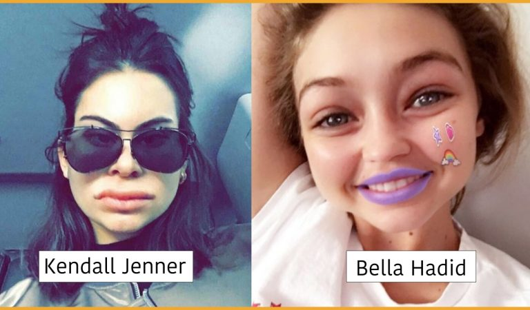 See How Your Favorite Hollywood Stars Look In Snapchat Filters!