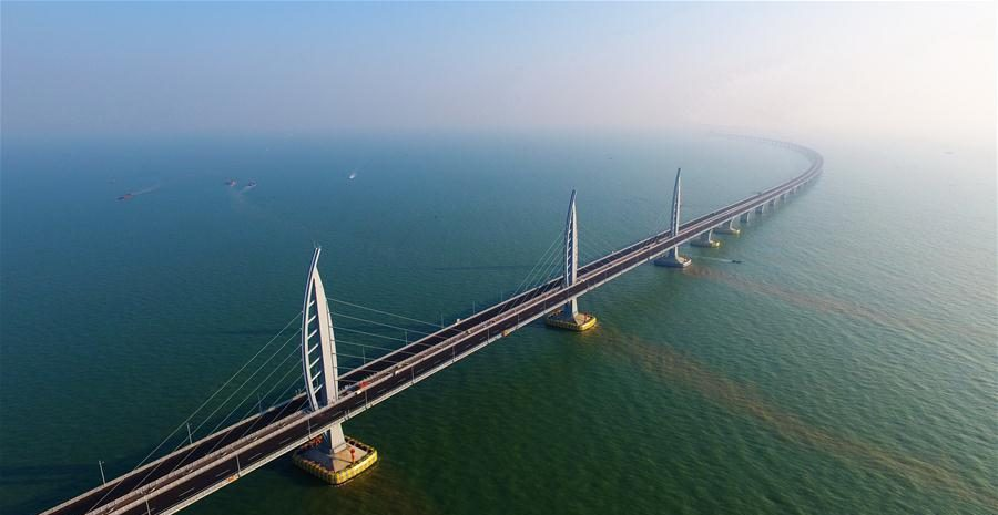 The World's Longest Sea-Crossing Bridge Built Up By China Is Breathtaking