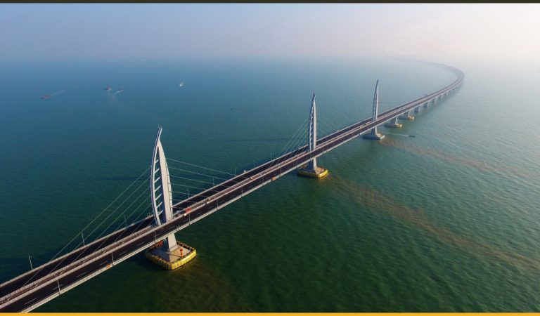 The World's Longest Sea-Crossing Bridge Built Up By China Is Finally Open