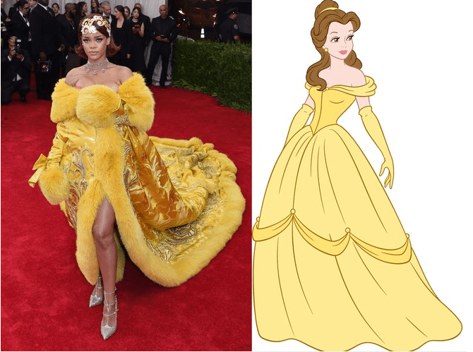 Times When Rihanna Looked Like A Real Life Disney Princess