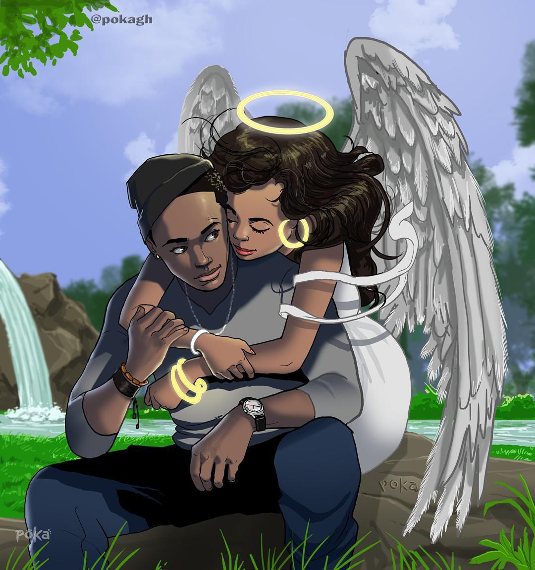 Beautiful Illustration - true love
