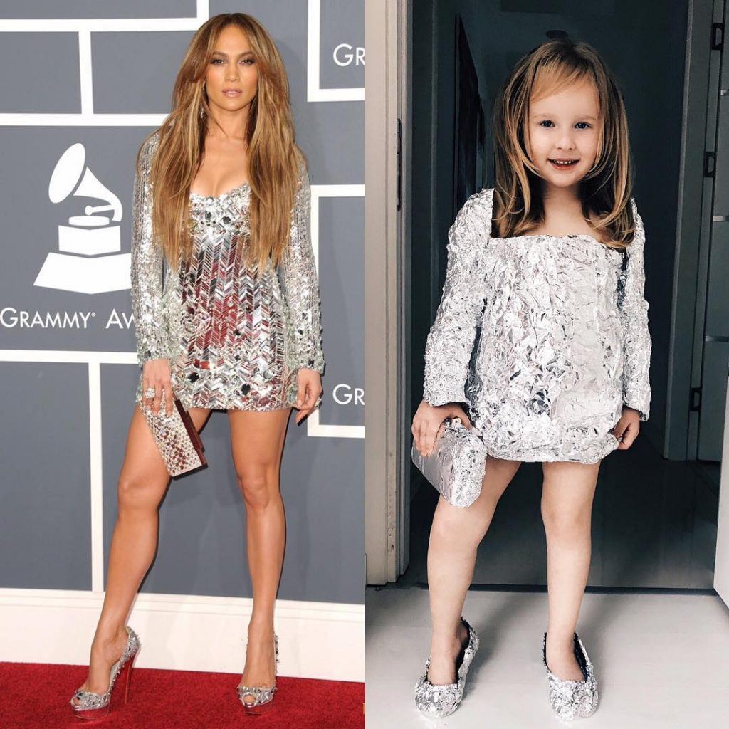 mother-daughter duo recreates celebrity looks