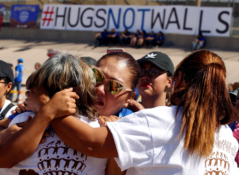 Families Separated By The US-Mexico Border Get A 3-Minute Hug Twice A Year