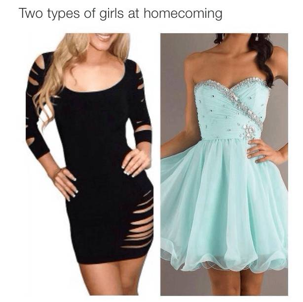 pictures two types girls