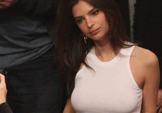 Basketball Fan Gets Caught By His Son While Checking Out Emily Ratajkowski