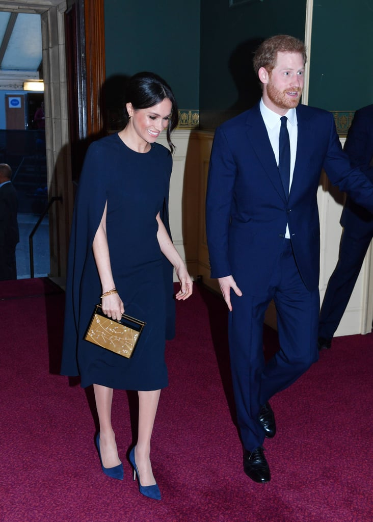 Here Is Why Prince Harry Walks Slightly Ahead Of Meghan Markle