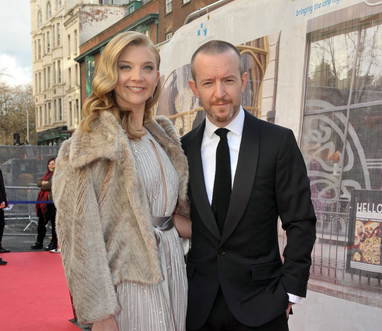 Margaery Tyrell and Director Anthony Byrne