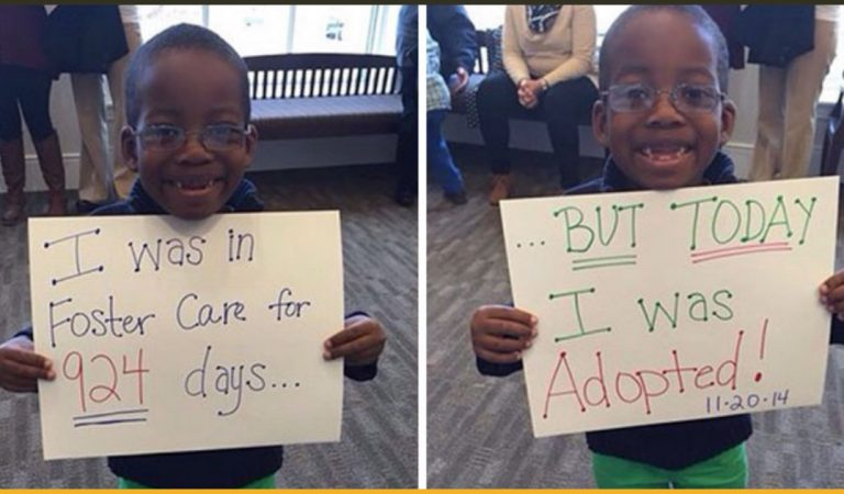 20 Pictures Of Just Adopted Kids That Is Going To Make Your Heart Melt