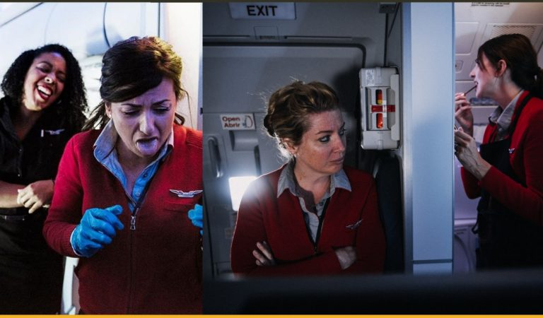 10+ Pictures That Show The Reality Of Being A Flight Attendant