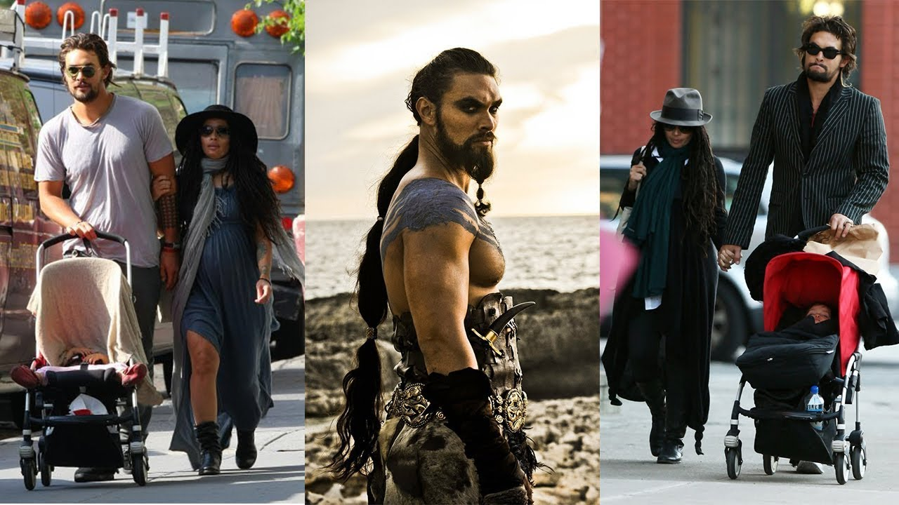 Khal Drogo of Game of Thrones with his off-screen partner