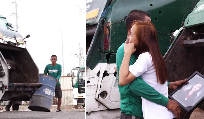 A Garbage Picker Supports His Daughter To Achieve College Degree