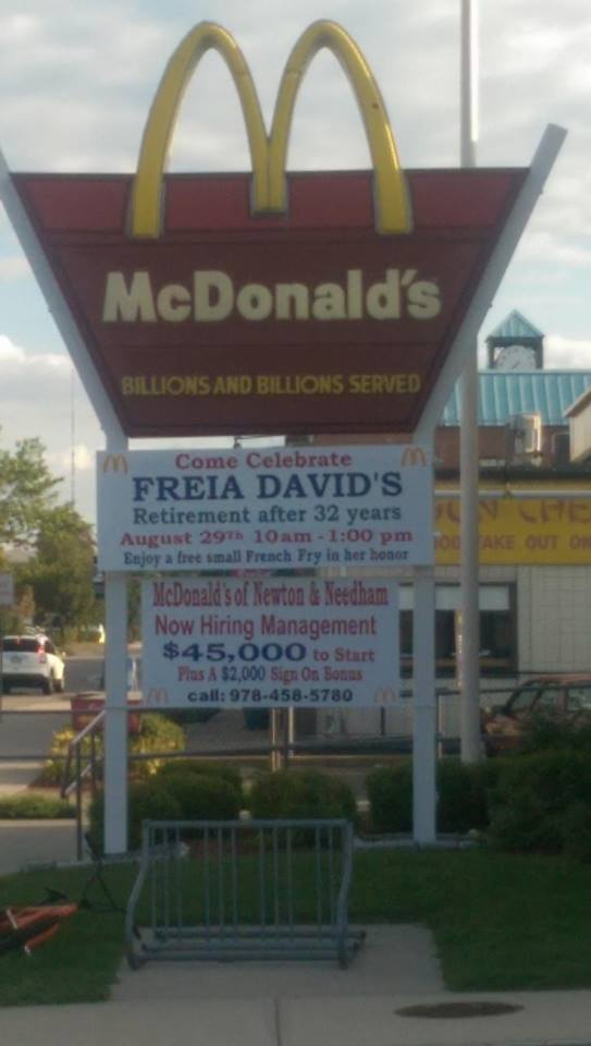 beloved McDonald's worker Down syndrome retires