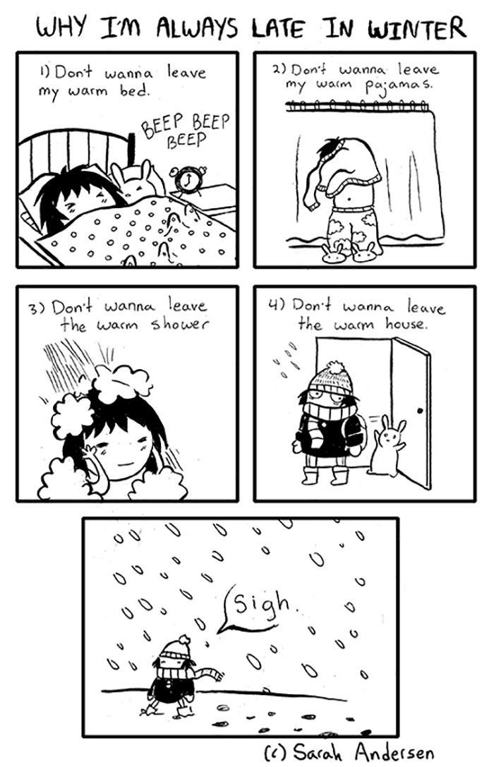 Hilarious Comics About Winters That You Can Easily Relate