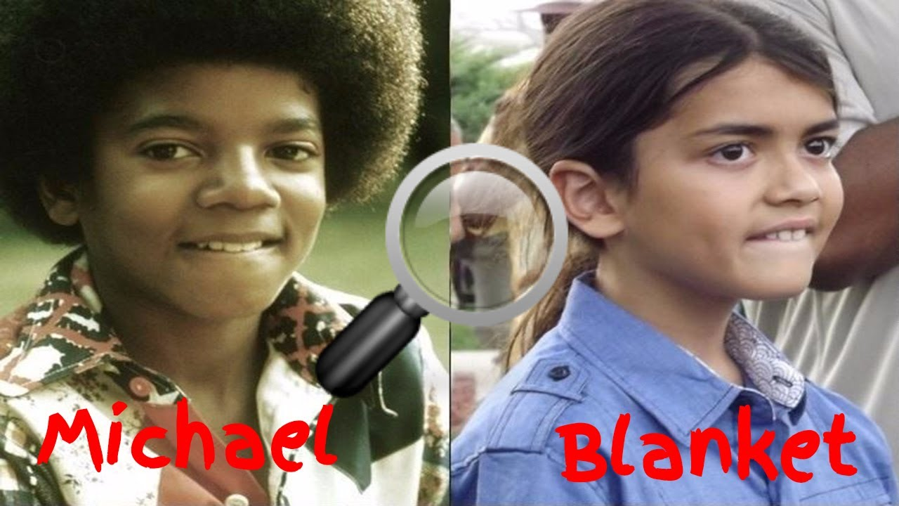 Rare Public Appearance Of Blanket Jackson, Michael Jackson's Youngest Child