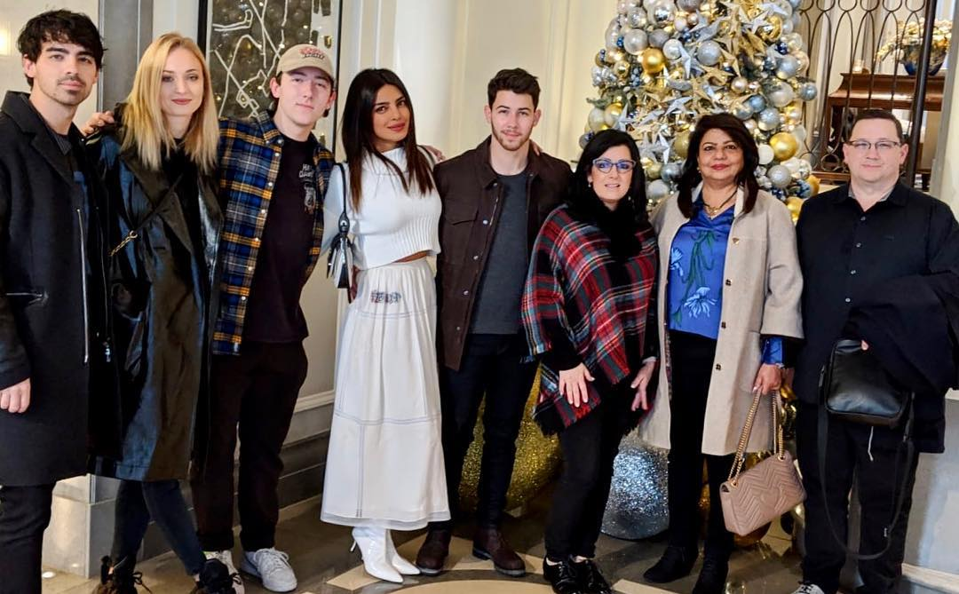 Priyanka Chopra And Nick Jonas First Christmas