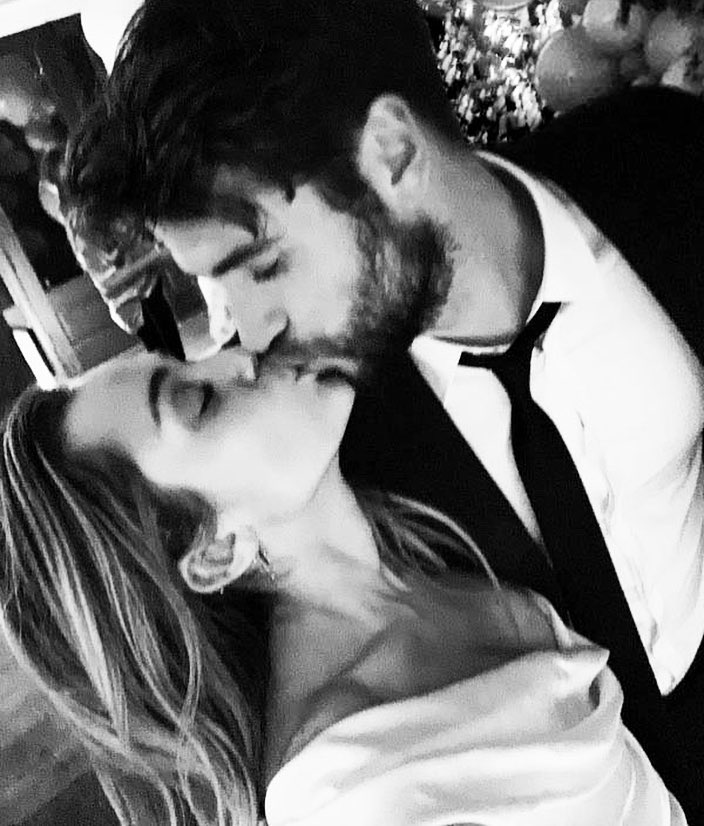 Miley Cyrus & Liam Hemsworth Confirm Their Marriage
