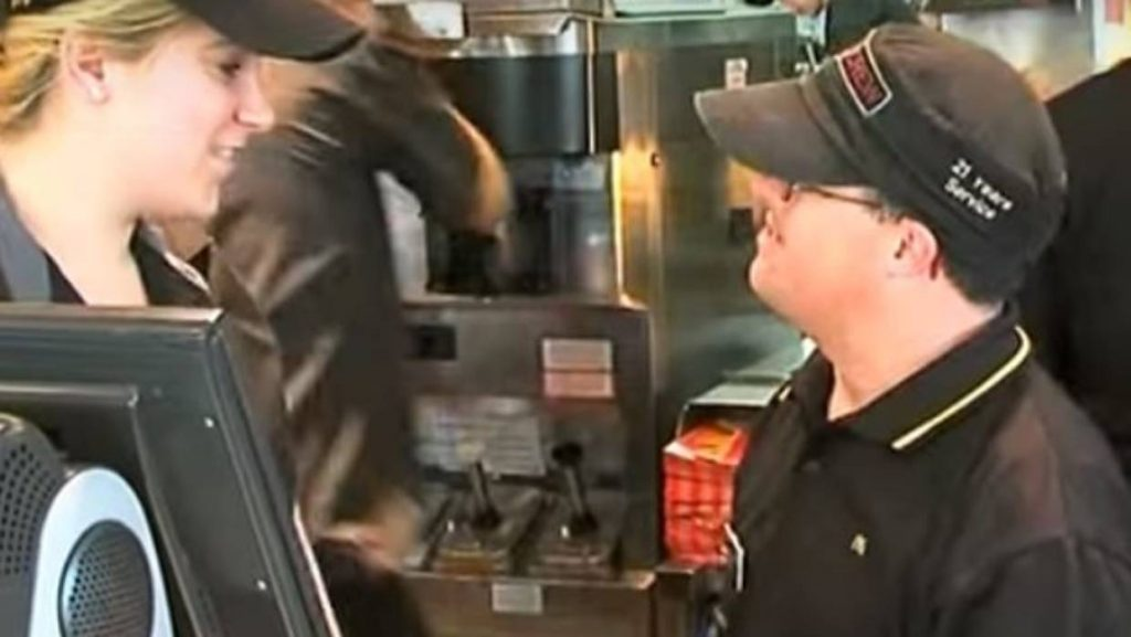 beloved McDonald's worker Down syndrome retires