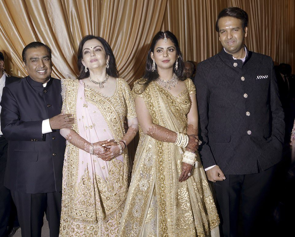 Wedding Of The Daughter Of India's Richest Man Continues!
