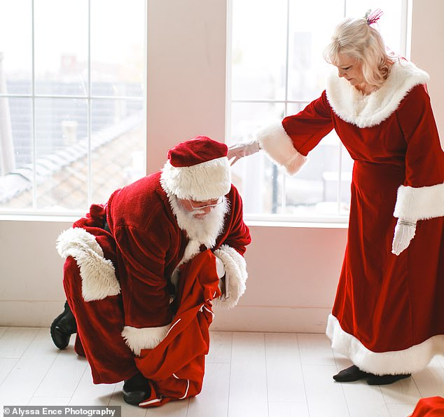 Man Who Works As Santa Clause Finally Proposes Mrs. Clause 40 Years After They Met Each Other