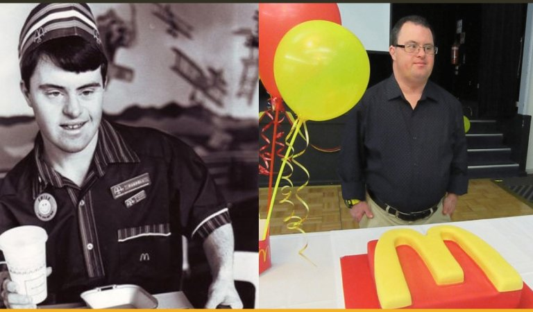 Beloved McDonald's Worker With Down Syndrome Retires Proudly After 32 Years