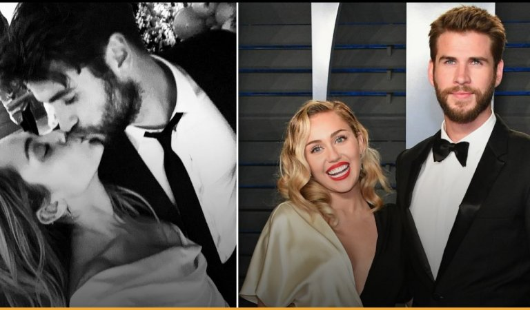 Miley Cyrus And Liam Hemsworth Confirm Their Marriage, And Here Are The Pictures!