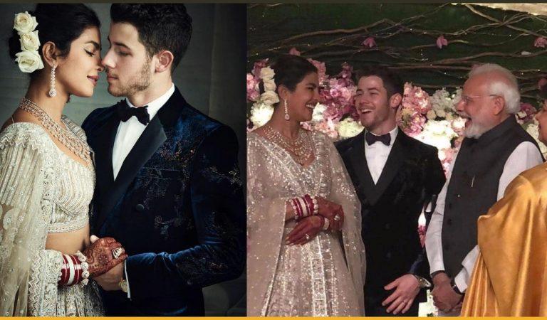 The Reception Pictures Of Priyanka Chopra And Nick Jonas At Taj Palace Are Beyond Beautiful