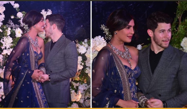 Pictures From Priyanka Chopra And Nick Jonas Mumbai Reception Are Out