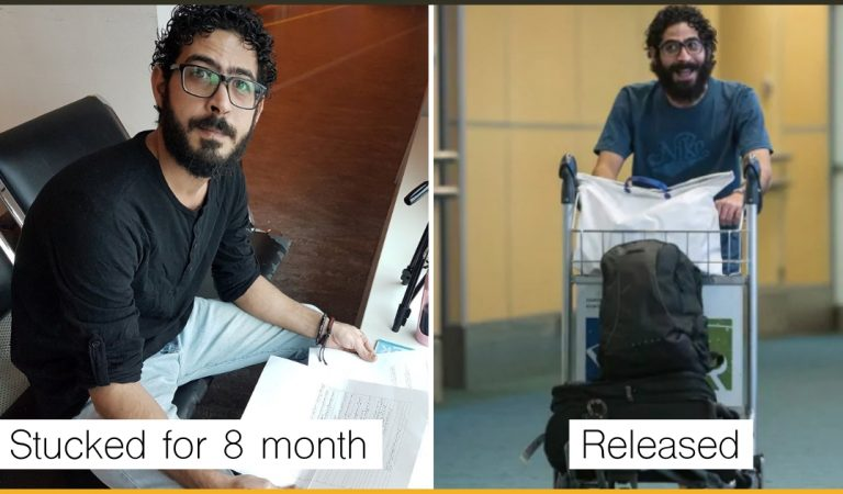 The Syrian Who Was Stuck At The Malaysian Airport For 8 Months Is Now Free And Starting A New Life