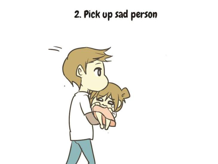 How To Take Care Of A Sad Person (10 Steps)