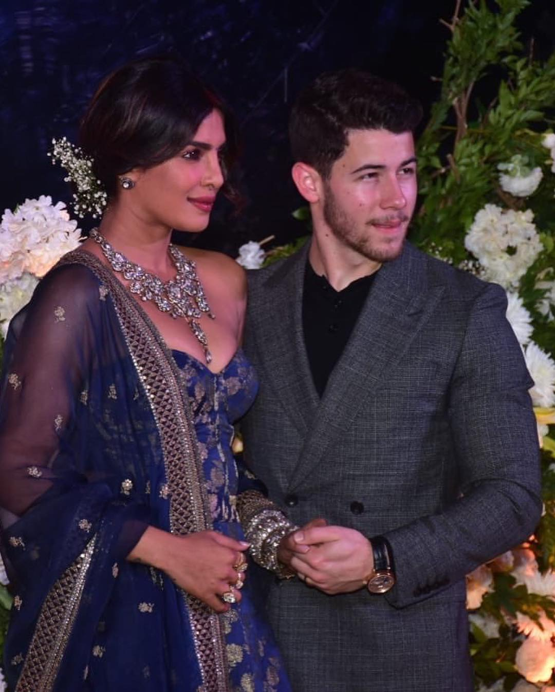 Pictures From Priyanka Chopra And Nick Jonas Mumbai Reception Are Out And The Couple Looked Stunning As Ever