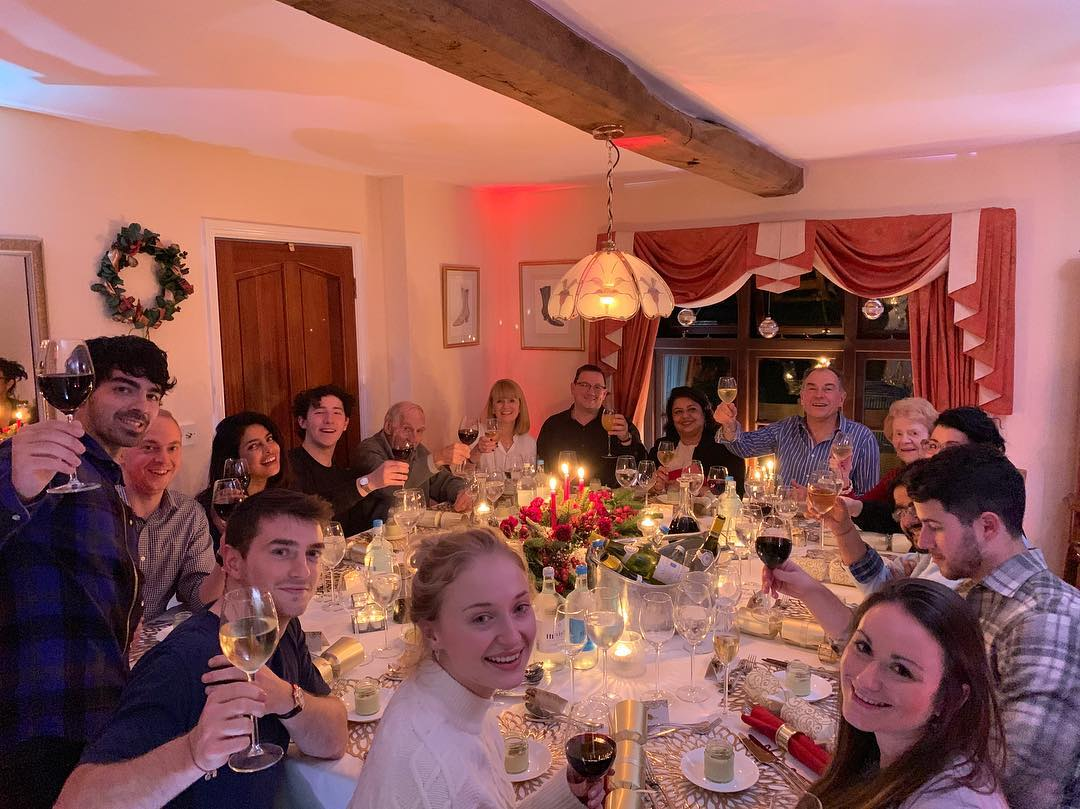 Nick and Priyanka are giving us major goals by their holiday celebration with family