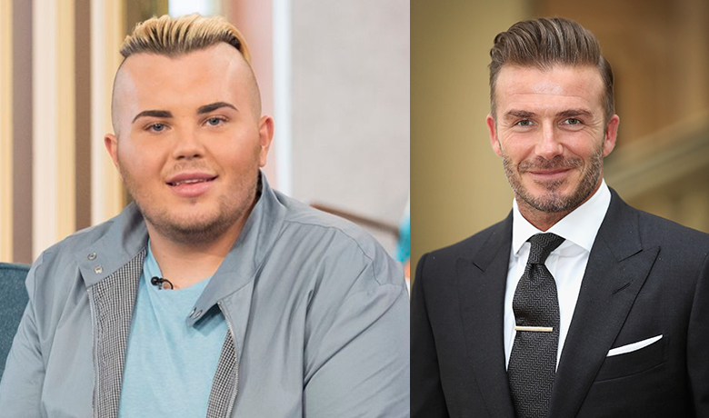 A 22-Year-Old Guy Spent $45k to Look Alike David Beckham Is Broke Now