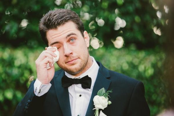bride read fling messages groom