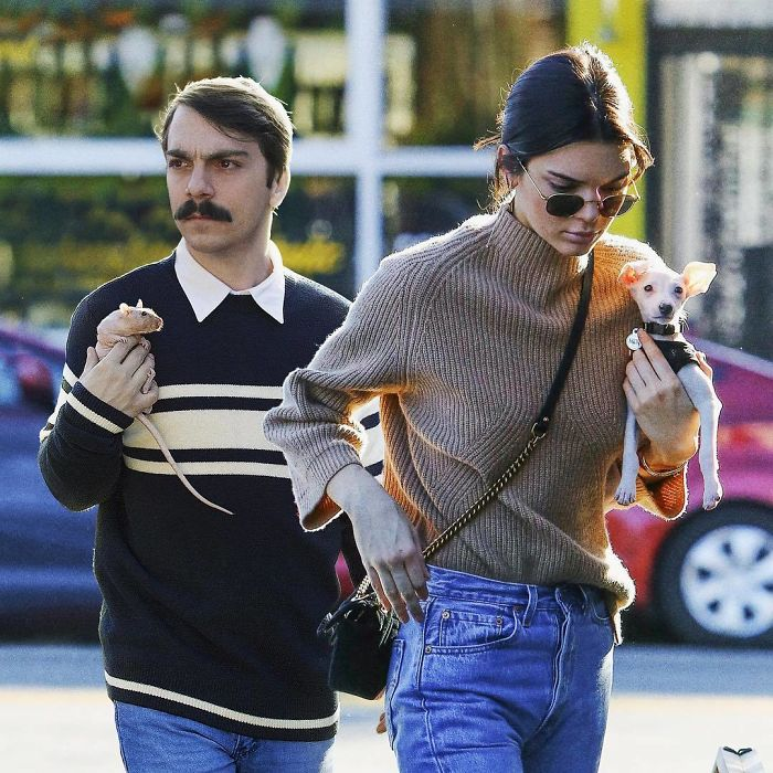 Funny Images Of Man Photoshopped Himself Into Kendall Jenner