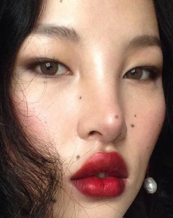 Tibetan model surprised exceptional beauty