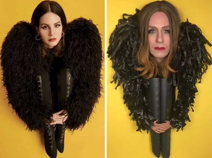 These Pictures Of Tom Lenk Recreating Celebrities Weird Costumes Are Hilarious