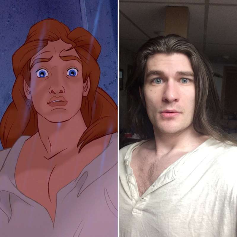 Guy Who Lost 70 Pounds Now A Lookalike A Disney Prince