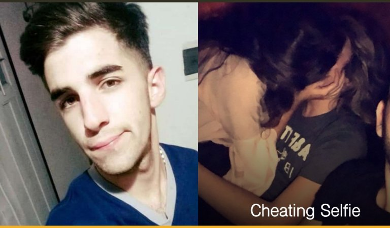 This Guy Took A Selfie While His Girlfriend Cheats On Him