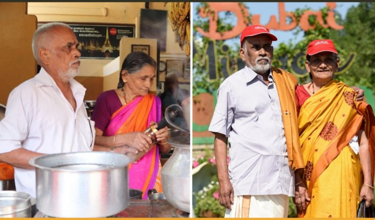 Veteran Couple Managed To Travel 23 Countries Just By Selling Tea