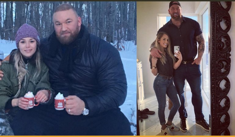 The Mountain From Game Of Thrones Looks Funny Holding A Regular Sized Mug